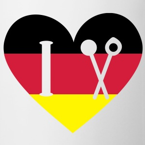 German cuisine. cook cooking chef  Aprons - Mug