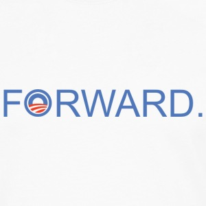 Forward Obama 2012. - Männer Premium Langarmshirt