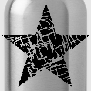 Vintage Star 3 Shirts - Water Bottle
