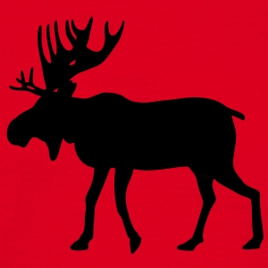 Moose / reindeer / deer Hoodies & Sweatshirts - Men's T-Shirt