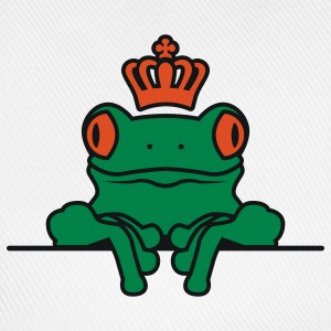 Frosch | Krone | Frog | Crown T-Shirts - Casquette classique