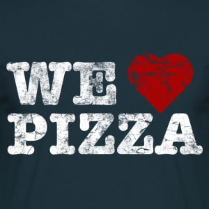 we_love_pizza_vintage_hell Sweaters - Mannen T-shirt