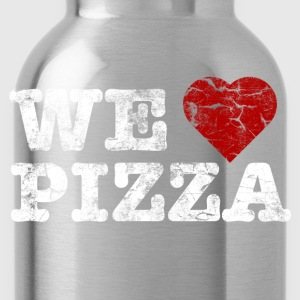 we_love_pizza_vintage_hell Shirts - Water Bottle