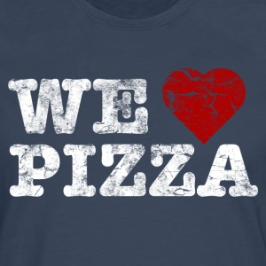 we_love_pizza_vintage_hell Shirts - Men's Premium Longsleeve Shirt