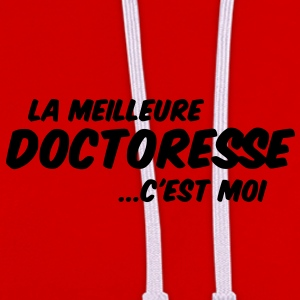 doctoresse - Sweat-shirt contraste