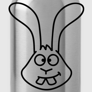 bunny_head T-Shirts - Trinkflasche