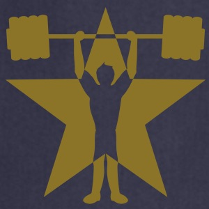 weightlifting_star Camisetas - Delantal de cocina