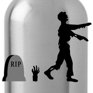 zombie_evolution T-Shirts - Water Bottle