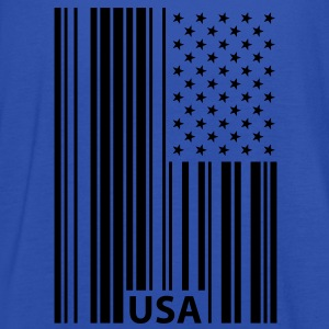 USA Barcode Flag T-Shirts - Women's Tank Top by Bella