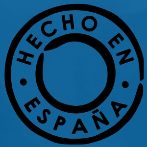 Royal blue Hecho en España - Made in Spain Shirts - Baby Organic Bib