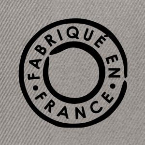 Brun / sand Fabrique en France - Made in France Vesker - Snapback-caps