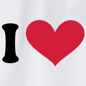 I love, I heart. . T-shirts - Gymtas