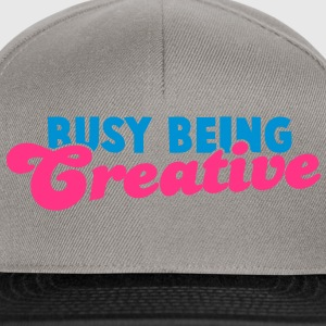 BUSY being CREATIVE! Hoodies & Sweatshirts - Snapback Cap
