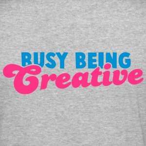 BUSY being CREATIVE! Hoodies & Sweatshirts - Men's Slim Fit T-Shirt