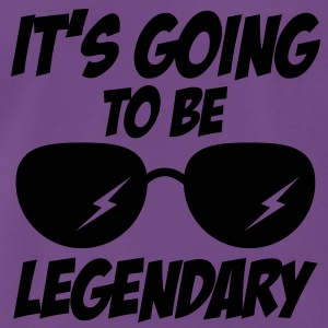 legendary sunglasses 1c Hoodies & Sweatshirts - Men's Premium T-Shirt