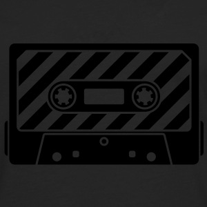 Audio Tape - Music Cassette T-shirts - Långärmad premium-T-shirt herr