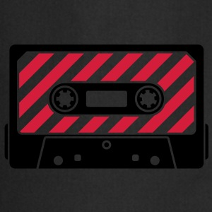 Audio Tape - Music Cassette Camisetas - Delantal de cocina