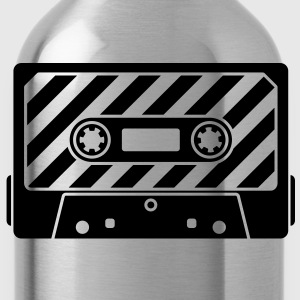 Audio Tape - Music Cassette T-Shirts - Trinkflasche