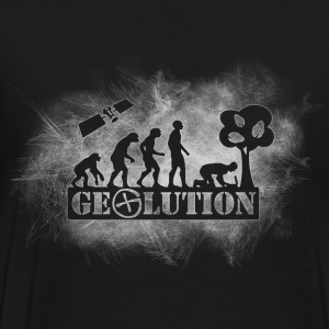 Geolution-light-grunge Camisetas polo  - Camiseta premium hombre