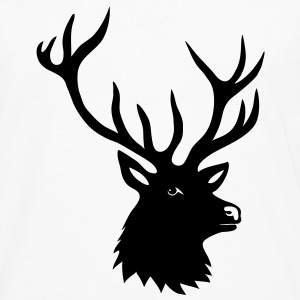 stag deer moose elk antler antlers horn horns buck Other - Men's Premium Longsleeve Shirt