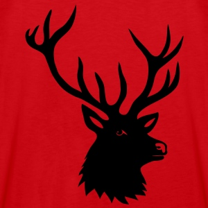 stag deer moose elk antler antlers horn horns buck Hoodies & Sweatshirts - Men's Premium Tank Top