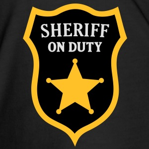 Sheriff on Duty. Police Officer Polo Shirts - Men's Premium T-Shirt