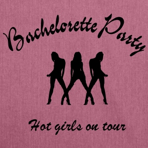 bachelorette party Hoodies & Sweatshirts - Shoulder Bag made from recycled material