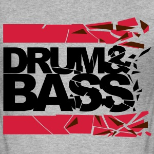Drum 'n' Bass shattered 2 Pullover & Hoodies - Männer Slim Fit T-Shirt