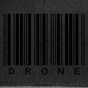 Black Drone Men's Tees - Snapback Cap