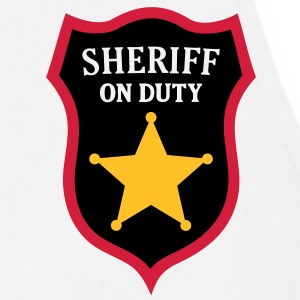 Sheriff on Duty - COP Star T-Shirts - Cooking Apron