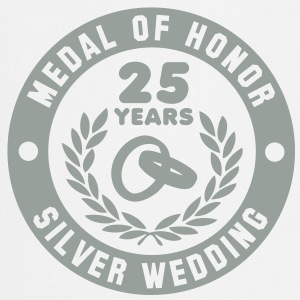MEDAL OF HONOR 25th SILVER WEDDING T-Shirt - Cooking Apron