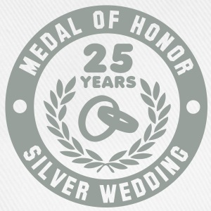 MEDAL OF HONOR 25th SILVER WEDDING T-Shirt - Baseballcap