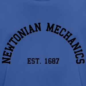 Newtonian Mechanics - Est. 1687 (Half-Circle) Hoodies & Sweatshirts - Men's Breathable T-Shirt