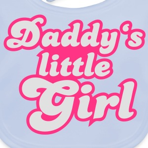 Daddy's little girl T-shirts - Ekologisk babyhaklapp