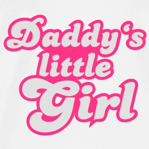 Daddy's little girl Skjorter - Premium T-skjorte for menn