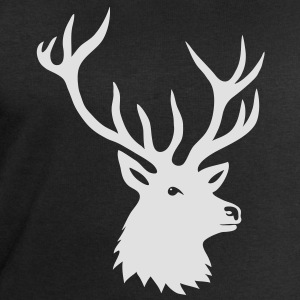 cerf ramure bois corne cornes animal sauvage chass Tee shirts - Sweat-shirt Homme Stanley & Stella