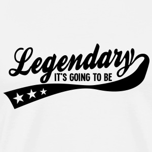it's going to be legendary 1c retro T-Shirts - Männer Premium T-Shirt