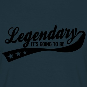 it's going to be legendary 1c retro Tröjor - T-shirt herr