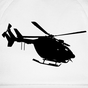 civil security helicopter ec 145 T-Shirts - Baseball Cap