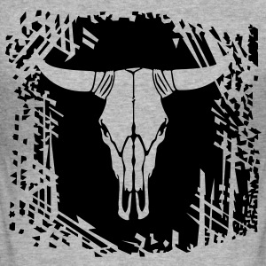 Cow skull Hoodies & Sweatshirts - Men's Slim Fit T-Shirt
