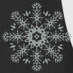 Snowflake Ornament Design T-Shirts - Cooking Apron
