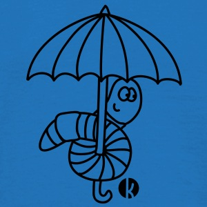 Regenwurm - Earthworm Umbrellas - Men's T-Shirt