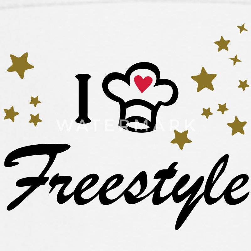 I love freestyle cooking. Cook, Chef  Aprons - Cooking Apron