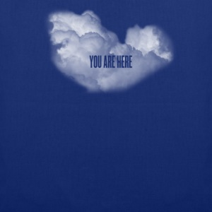 cloud you are here Shirts - Tote Bag