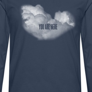 cloud you are here Shirts - Men's Premium Longsleeve Shirt
