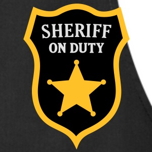 Sheriff on Duty, Police Officer T-Shirt Kids - Cooking Apron