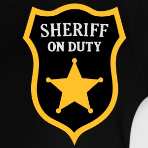 Sheriff on Duty. Polizei, Polizist, Kindershirts - Baby T-Shirt