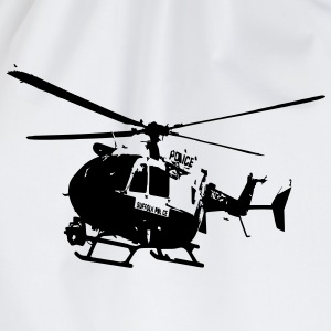 Police helicopters EC145 T-Shirts - Drawstring Bag