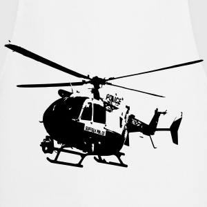Police helicopters EC145 T-Shirts - Cooking Apron