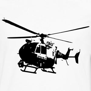 Police helicopters EC145 T-Shirts - Men's Premium Longsleeve Shirt